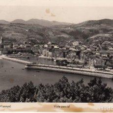 Postales: POSTAL: LEQUEITIO - VIZCAYA / ESCRITA 1956. Lote 115375219