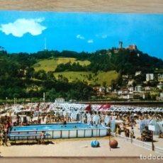 Postales: SAN SEBASTIAN - PLAYA DE ONDARRETA. Lote 115399443
