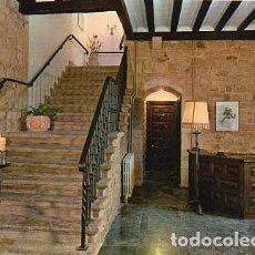 Postales: LAGUARDIA - 4 HOSTAL FABULISTA SAMANIEGO - ESCALERA PRINCIPAL. Lote 115695627