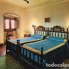 Postales: LAGUARDIA - 5 HOSTAL FABULISTA SAMANIEGO - DORMITORIO. Lote 115695739
