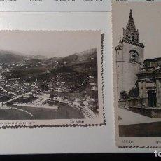 Postales: DOS BONITAS POSTALES AZPEITIA (GUIPUZCOA) DÉCADA 40. Lote 115956499