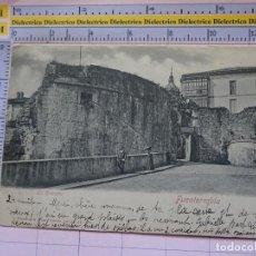 Postales: POSTAL DE GUIPÚZCOA. SIGLO XIX - 1905. FUENTERRABIA. LA ENTRADA. 16514 RÖMMLER. 1399. Lote 115977675