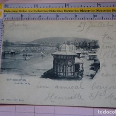 Postales: POSTAL DE GUIPÚZCOA. SIGLO XIX - 1905. SAN SEBASTIAN, CASETA REAL. 358 HAUSER MENET. 1404. Lote 115978855