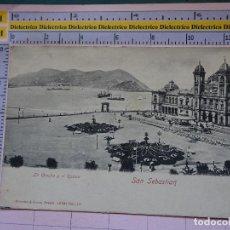Postales: POSTAL DE GUIPÚZCOA. SIGLO XIX - 1905. SAN SEBASTIAN, LA CONCHA Y EL CASINO. 16561 RÖMMLER. 1405. Lote 115979119