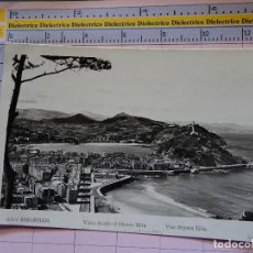 Postales: POSTAL DE GUIPÚZCOA. AÑOS 30 50. SAN SEBASTIAN. VISTA DESDE MONTE ULIA. MANIPEL. 1419. Lote 115983255