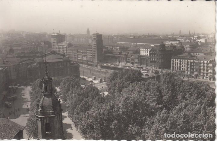 POSTAL: BILBAO. VISTA PARCIAL (Postales - España - País Vasco Moderna (desde 1940))