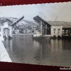 Postales: BILBAO. PUENTE BASCULANTE DEL GENERALISIMO. ED. GARCIA GARRABELLA Nº9. Lote 116635631