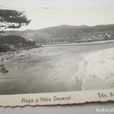 Postales: LEQUEITIO. PLAYA Y VISTA GENERAL. ED. BARCENA-ERQUIAGA. AÑOS 50.. Lote 116963095