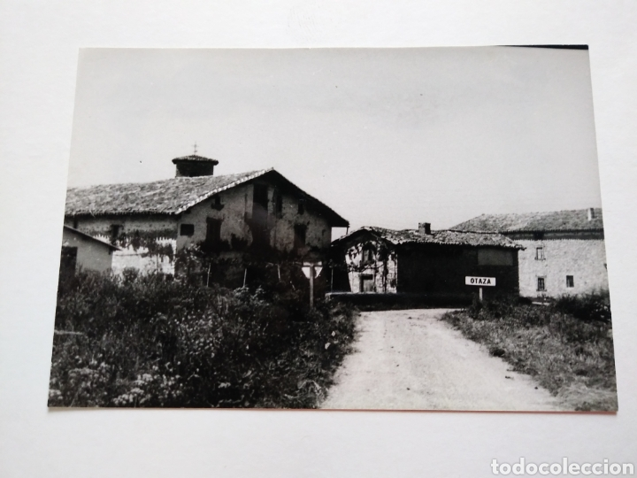 Postales: OTAZA. ALAVA. PUEBLO ANTES DE SU DESAPARICION 1978. - Foto 6 - 117100439