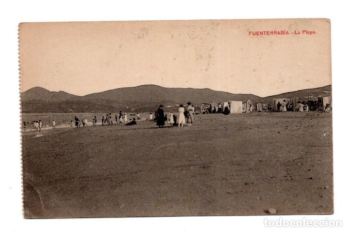 FUENTERRABIA (GUIPUZCOA).- LA PLAYA (Postales - España - Pais Vasco Antigua (hasta 1939))