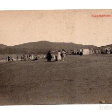 Postales: FUENTERRABIA (GUIPUZCOA).- LA PLAYA. Lote 117243587