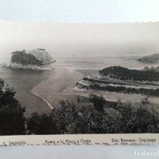 Postales: LEQUEITIO (VIZCAYA) : PASEO A LA PLAYA Y COSTA ED. BARCENA. ERQUIAGA. .. Lote 117447379