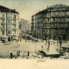 Postales: BILBAO.- PLAZA CIRCULAR. EDICIÓN RÖMMLER & JONAS, DRESDE Nº 16614C,12. Lote 117525655