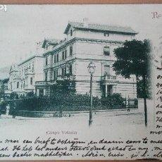 Postales: POSTAL RECUERDO BILBAO CHALETS CAMPO VOLANTIN LIBRERIA ELEUTERIO VILLAR VIZCAYA PAIS VASCO EDIT 1901. Lote 117615511