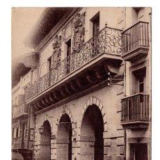 Postales - GUIPUZCOA. FUENTERRABIA, ARCOS DE LA CASA CONSISTORIAL. FOT. MARCEL DELBOY. - 117771683
