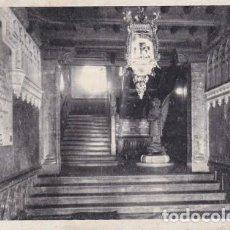 Postales: LOYOLA (AZPEITIA-GUIPUZCOA) ESCALERA. ED: HIJA DE J. IRAZU. ESCRITA CON SELLO (779). Lote 119465591