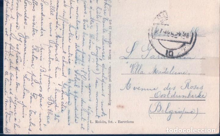 Postales: POSTAL DEVA - BAR RESTAURANTE MIRAMAR - SOBRE LA PLAYA - ROISIN - CIRCULADA - Foto 2 - 119612427