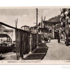 Postales: ONDARROA. VIZCAYA.- COFRADÍA DE LOS PESCADORES. L. ROISIN. Lote 119615687