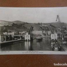 Postales: POSTAL BILBAO, LA RIA POR DEUSTO. Lote 119655039