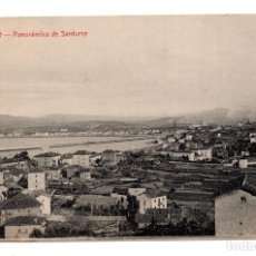 Postales: BILBAO.- PANÓRAMICA DE SANTURCE. Lote 119723091