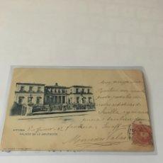 Postkarten - Postal Hauser y Menet 308 sin dividir Vitoria-Palacio de la Diputación - 120292611
