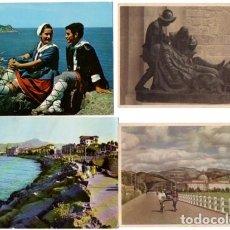 Postales: LOTE DE 60 POSTALES DE GUIPUZCOA - CIRCULADAS Y SIN CIRCULAR- VER FOTOS ADICIONALES. Lote 120318031