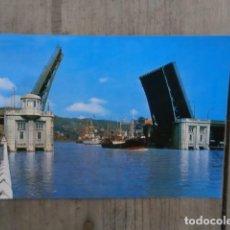 Postales: POSTAL BILBAO, PUENTE DEL GENERALISIMO. Lote 120507531
