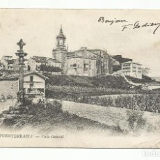 Postales: FUENTERRABIA GUIPUZCOA VISTA GENERAL. Lote 120746083