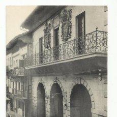 Postales: FUENTERRABIA GUIPUZCOA CASA CONSISTORIAL. Lote 120839007
