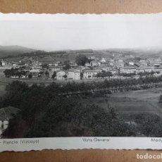 Postales: POSTAL PLENCIA, VIZCAYA, VISTA GENERAL. Lote 121597507