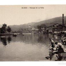Postales: BILBAO. VIZCAYA.- PAISAGE DE LA PEÑA. Lote 121854451