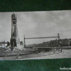 Postales: LAS ARENAS, VIZCAYA Nº 66. MONUMENTO A E. CHURRUCA. ED, GARCIA GARRABELLA. Lote 123055891
