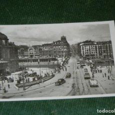 Postales: BILBAO Nº 20. PLAZA DE ARRIAGA Y PUENTE DE LA VICTORIA - GARCIA GARRABELLA . Lote 123057067