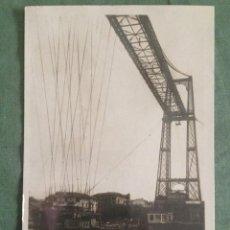 Postales: BILBAO - TRASBORDADOR AEREO - 25 - CIRCULADA 1932. Lote 123267439