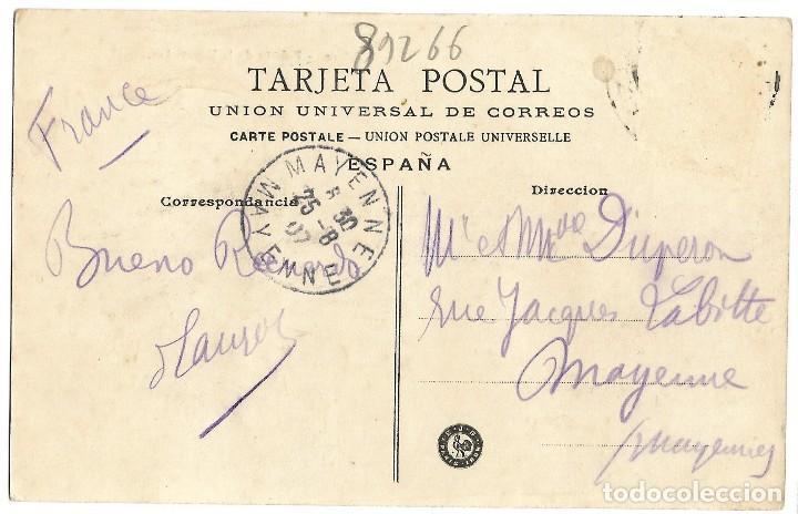 Postales: 1906 POSTAL CIRCULADA BILBAO PALACIO DE LA DIPUTACIÓN - Foto 2 - 123544807