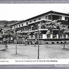 Postales: TARJETA POSTAL. DEVA, GUIPUZCOA - ESCUELA DE VERANO DE LA SECCION FEMENINA. Lote 124025711