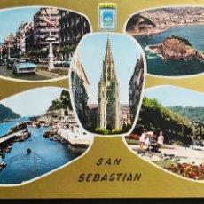 Postales: POSTAL ANTIGUA. SAN SEBASTIAN. # 34. SERIE ORO. SIN CIRCULAR. Lote 124537823