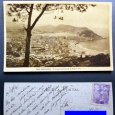 Postales: SAN SEBASTIAN, POSTAL CIRCULADA DEL AÑO 1941. Lote 125155263