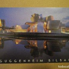 Postales: GUGGENHEIM MUSEO BILBAO. NUEVA.. Lote 125229859