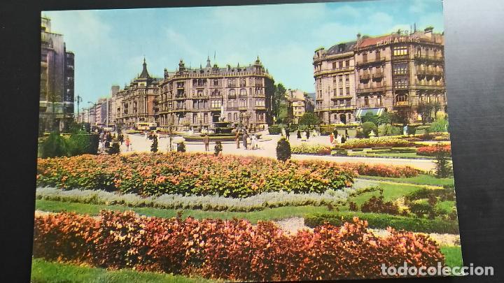 POSTAL DE BILBAO. VIZCAYA. PLAZA FEDERICO MOYUA (Postales - España - País Vasco Moderna (desde 1940))