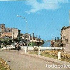 Postales: ZUMAIA - 3 ENTRADA AL PUERTO. Lote 126134403
