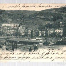 Postales: TARJETA POSTAL BILBAO. CAMPO VOLANTIN DESDE EL ENSANCHE. Nº 1025. LANDABURU HERMANAS. CIRCA 1905. Lote 126243291