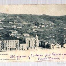Postales: TARJETA POSTAL DEUSTO (BILBAO). Nº 532. LANDABURU HERMANAS. AÑO 1904. Lote 126244054
