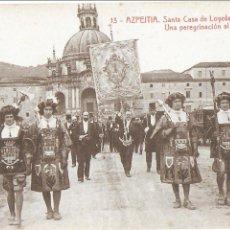 Postales: P- 8334. POSTAL AZPEITIA, SANTA CASA DE LOYOLA. UNA PEREGRINACION AL SANTUARIO. Nº 13. THOMAS.. Lote 126878639