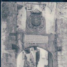 Postales: POSTAL FUENTERRABIA - CALLE MAYOR - TIBURCIO BERROTARAN - SIN DIVIDIR. Lote 127147303