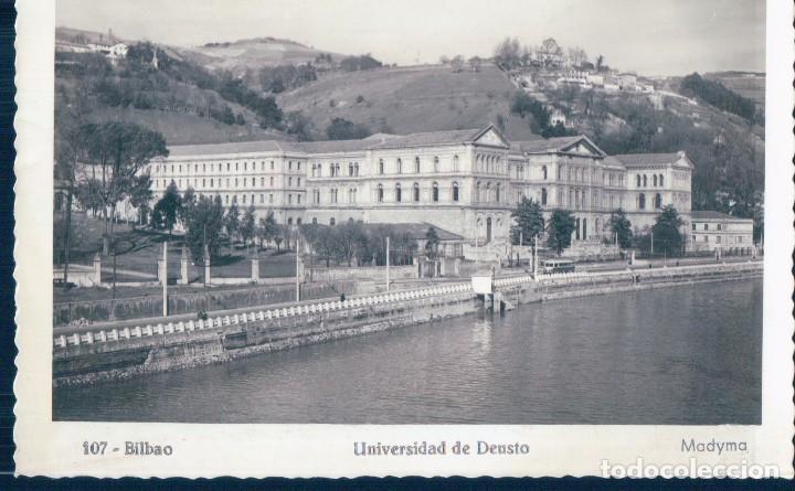 POSTAL BILBAO 107 - UNIVERSIDAD DE DEUSTO - MADYMA (Postales - España - Pais Vasco Antigua (hasta 1939))