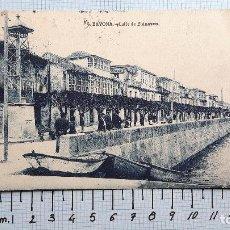 Postales: BAYONA, CALLE DE ELDUAYEN. CIRCULADA 1930.. Lote 127548679