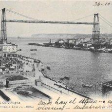 Postcards - 1902 Postal circulada Las Arenas - Portugalete Puente Vizcaya Landaburu Hermanas - Hauser y Menet - 127559407