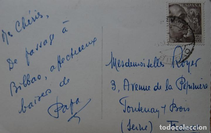 Postales: BILBAO - PUENTE DE DEUSTO ABIERTO - Foto 2 - 127818975