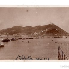 Postales: SAN SEBASTIAN.- AÑO 1928.- POSTAL FOTOGRÁFICA. Lote 128042507